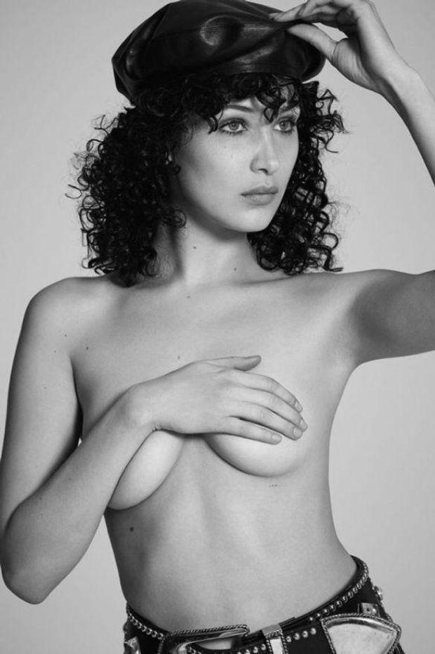 Белла Хадід у відвертій фотосесії