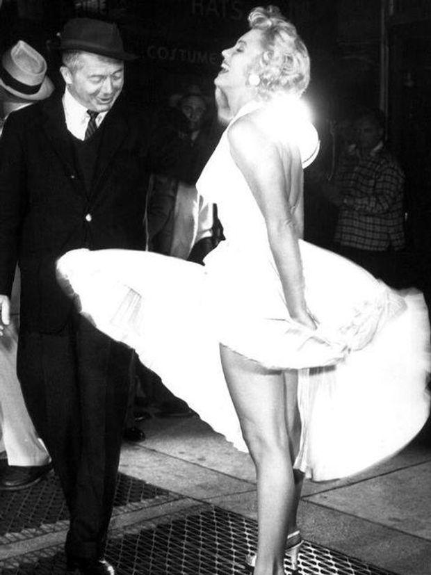 Мерилін Монро і  Біллі Уайлдер, 1955
