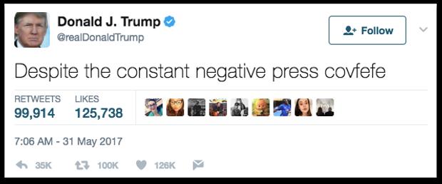 Відомий твіт Трампа