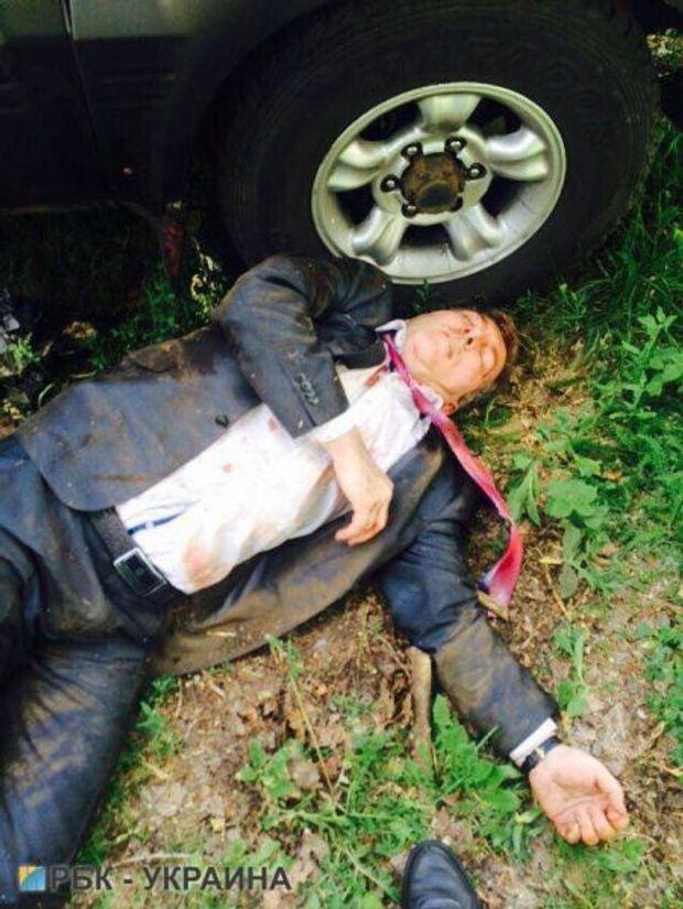 Фото: РБУ-Україна//У Києві поранено Адама Осмаєва