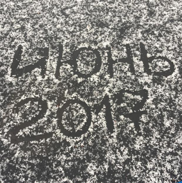 У Москві випав сніг 2 червня