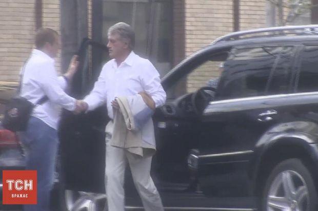Віктор Ющенко також був на святкуванні ювілею Білозір