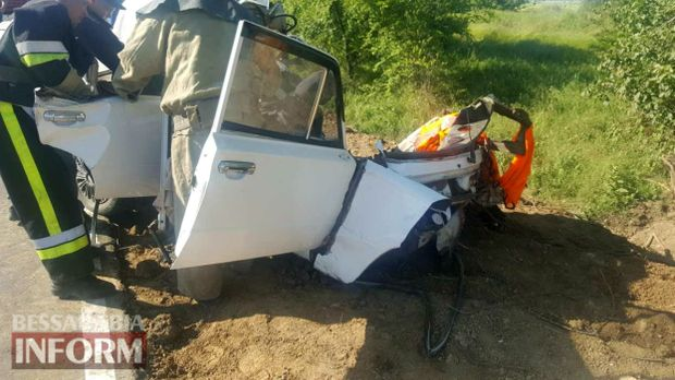 Аварія на Одещині