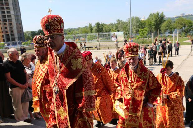 Поховання Любомира Гузара у Києві