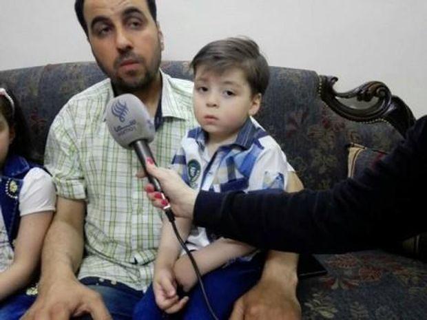 Омран Дакніш та його батько