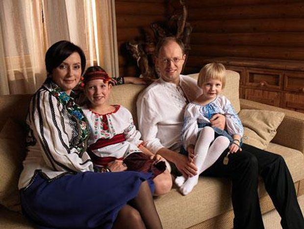 День батька 2017: Яценюк і родина