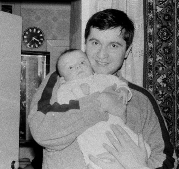 Аваков в молодості: до Дня батька 2017