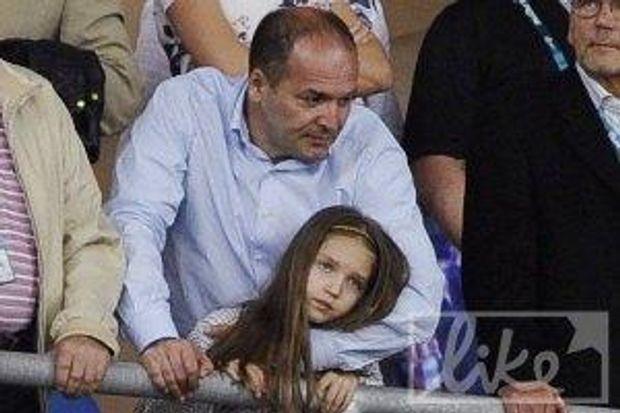 Пінчук і донька у День батька