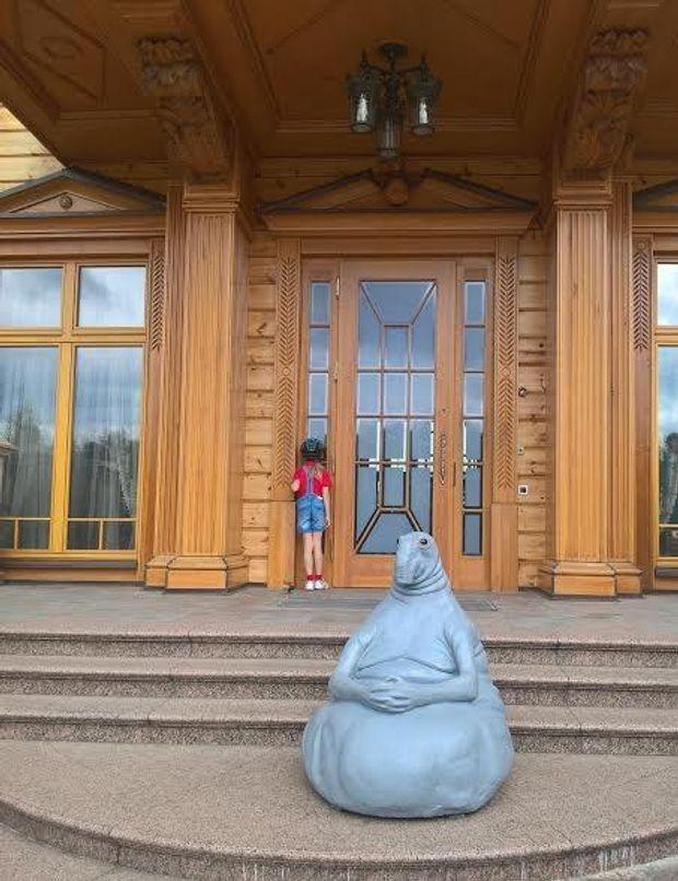Почекун, Межигір'я, Янукович