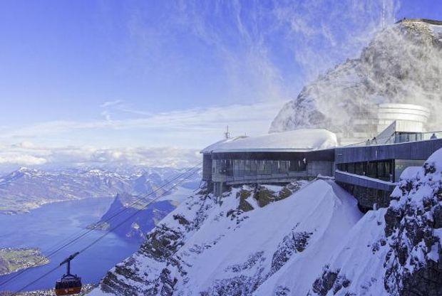 Швейцарія безвіз: гора Пілатус