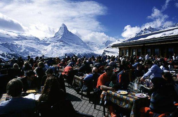 Швейцарія безвіз: пік Маттерхорн