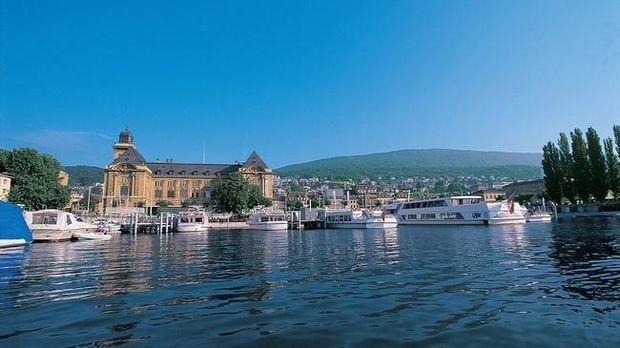 Швейцарія безвіз: озеро Невшатель