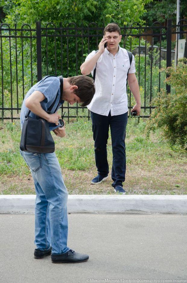 Всеволод Філімоненко облив Шабуніна з газового балончика