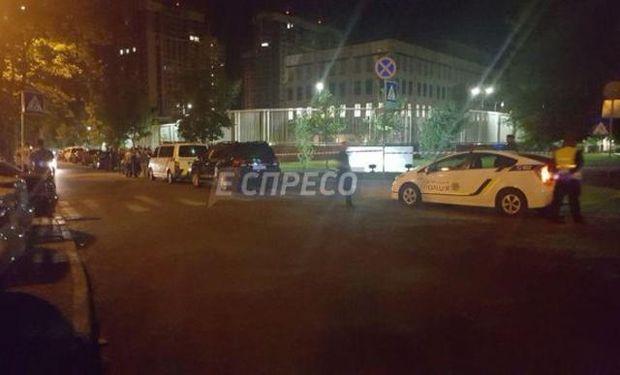 Вибух біля посольства США в Києві