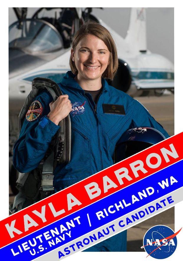 Кайла Беррон в групі астронавтів для польоту на Марс