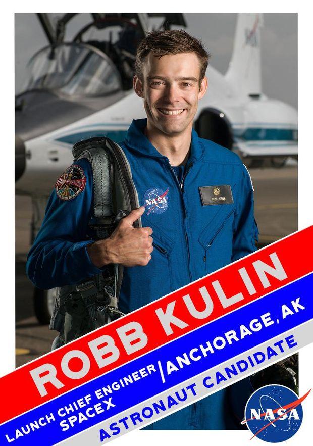 Роб Каллін у складі групи астронавтів для польоту на Марс