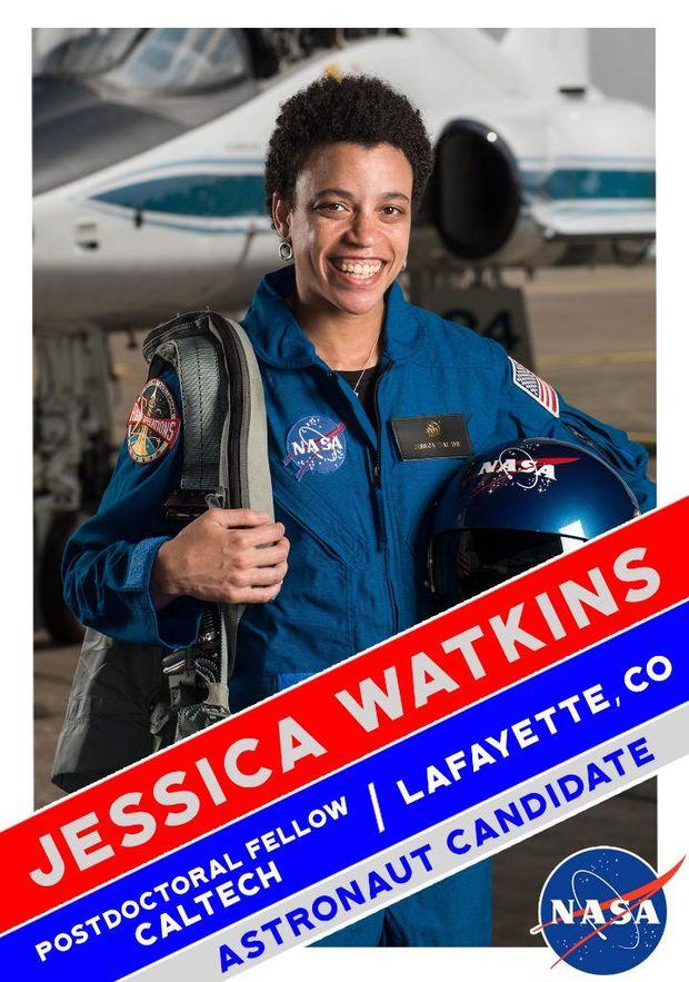 Джессіка Воткінс у складі групи астронавтів для польоту на Марс