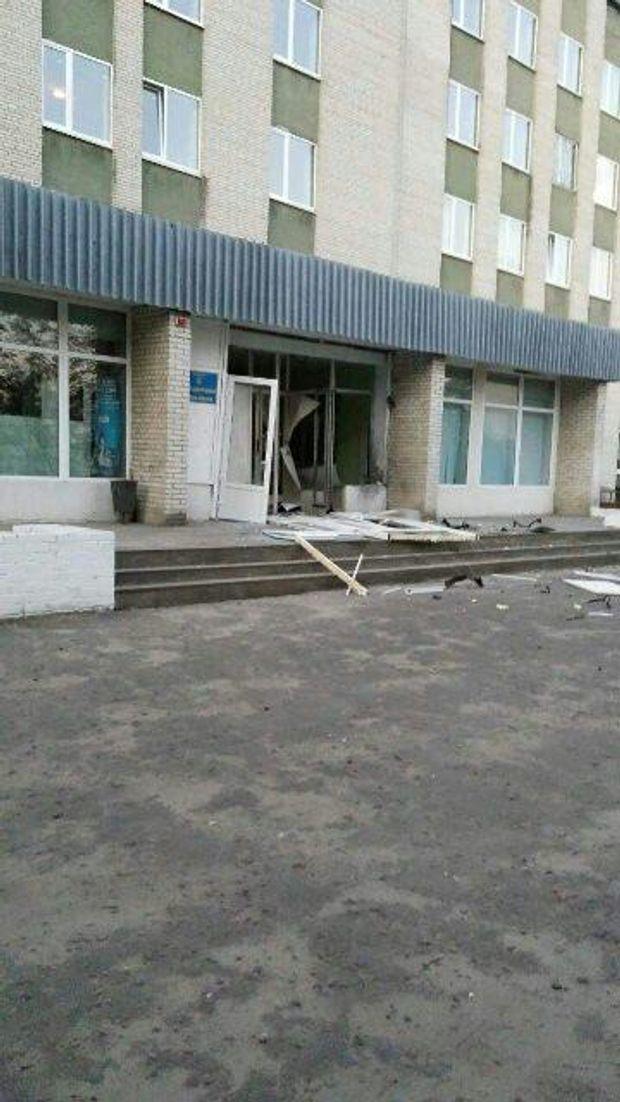Вибух, Львівщина, буськ, лікарня