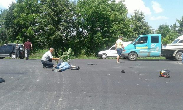 Аварія, Буковина, мотоцикл, авто