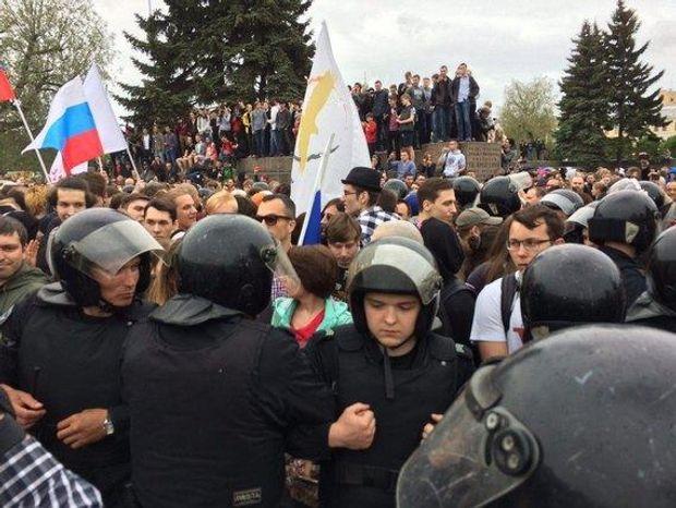 Мітинги в Росії 2017