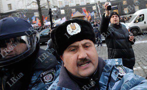 Сергій Кусюк командував силовими розгонами мирних акцій під час Революції Гідності