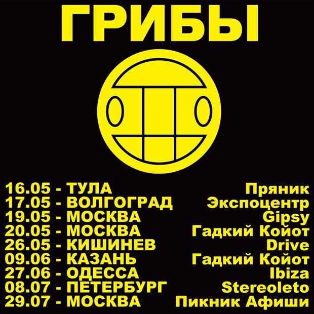 Грибы, Росія, Одеса