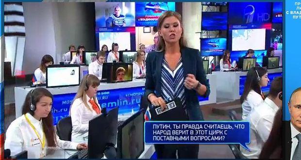 Путін, пряма лінія, Росія