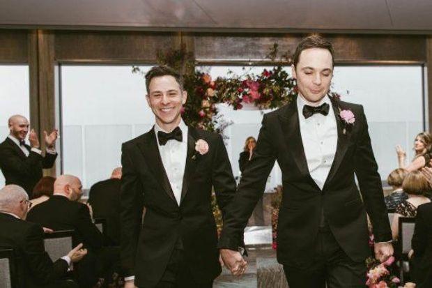 Тодд Співак і Джим Парсонс відгуляли весілля