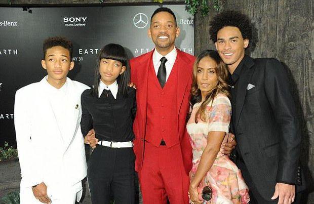 Щаслива сім'я Уілл Смітта