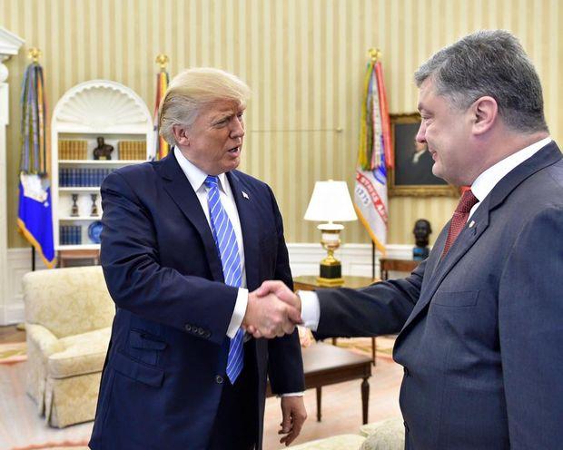 Зустріч Трампа із Порошенком у Вашингтоні