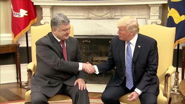 Зустріч Трампа з Порошенком