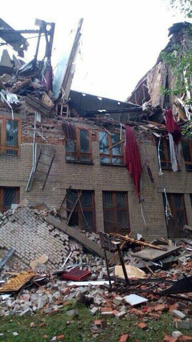Донецьк, університет, вибух
