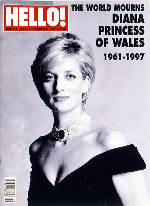 Принцеса Діана на обкладинці журналу