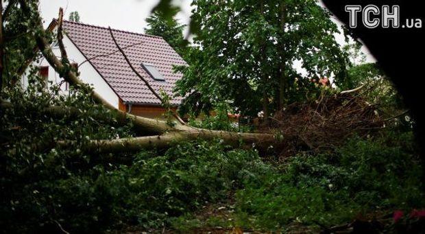 Берлін, зливи, негода, потоп, Німеччина