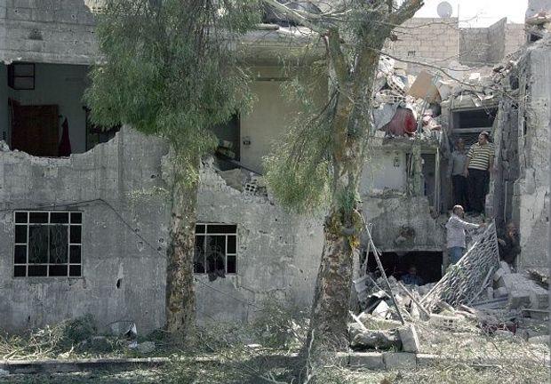 Фото: Getty Images\\наслідки теракту в Дамаску