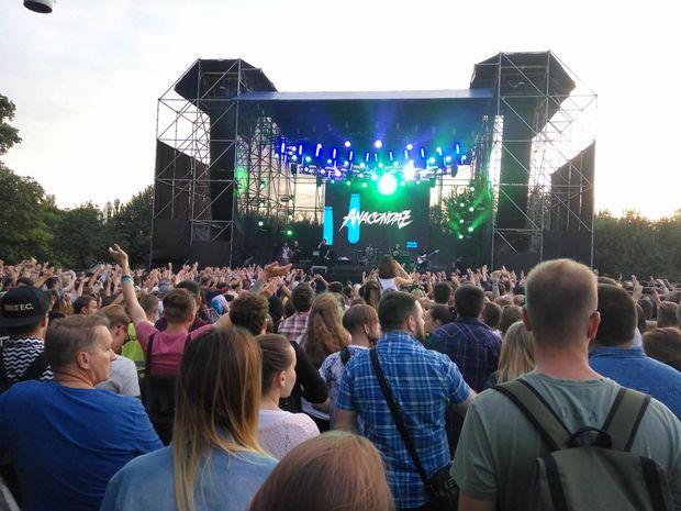 Виступ  Anacondaz на фестивалі Atlas Weekend в Києві