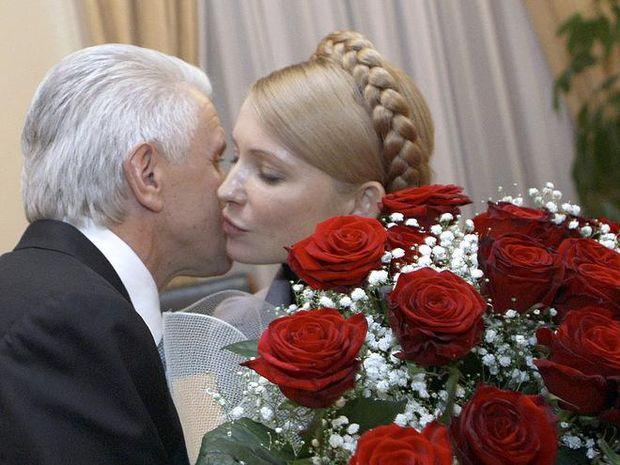 День поцілунків: Литвин і Тимошенко