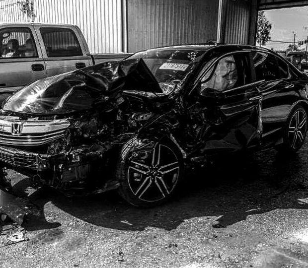 Фото: xsport.ua//Авто Редкача після аварії