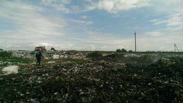 Пожежа, Київ, сміття