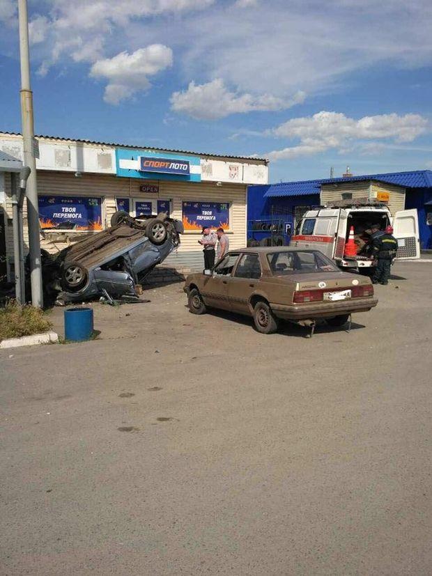 Аварія у Павлограді