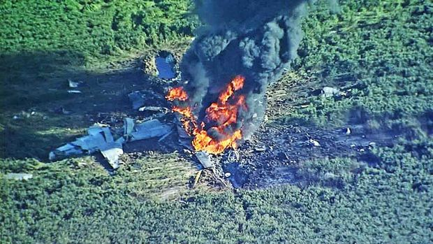 УСША урезультаті аварії військового літака загинули 16 людей