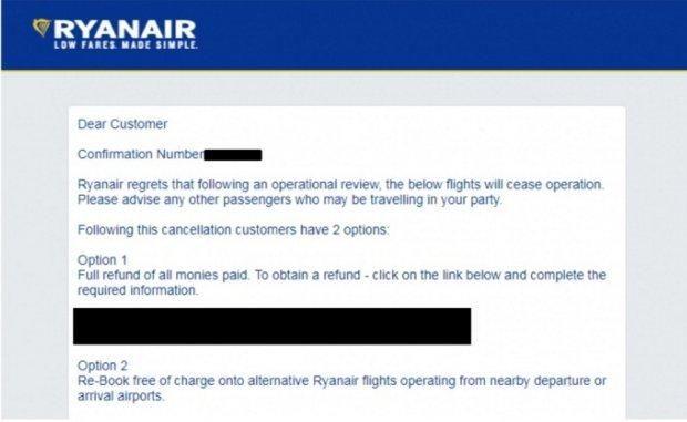 Що робити з квитками Ryanair
