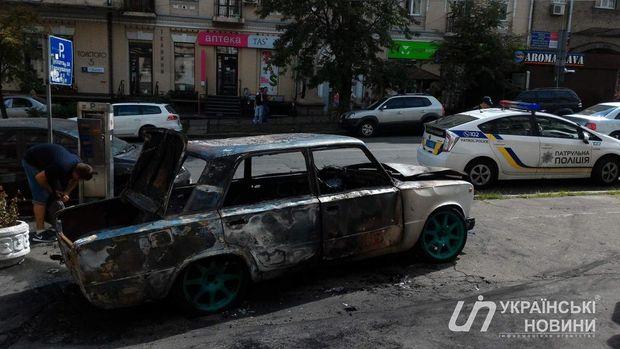Авто, вибух, Київ