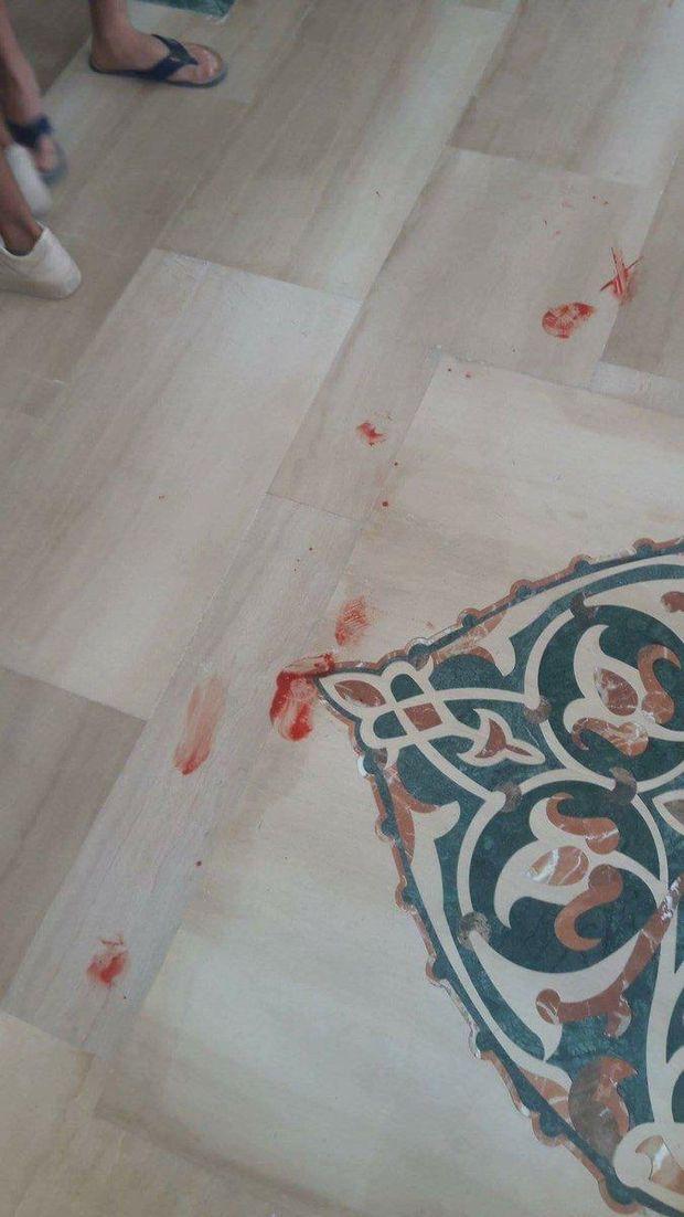 Фото з місця нападу в готелі Єгипту