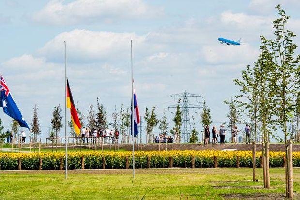 Мемориал жертвам MH17 в Нидерландах