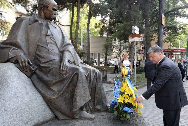 Порошенко, Шевченко, Грузія, Тбілісі, культура