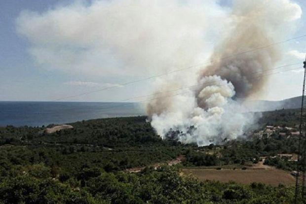 Украинский самолет уже сбросил 240 тонн воды над масштабными пожарами вЧерногории