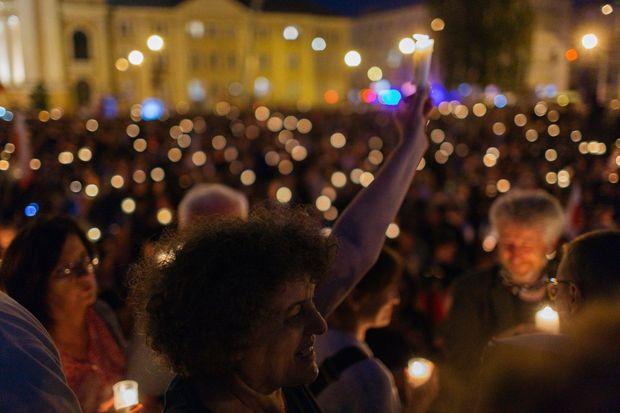 Протест у Варшаві проти судової реформи
