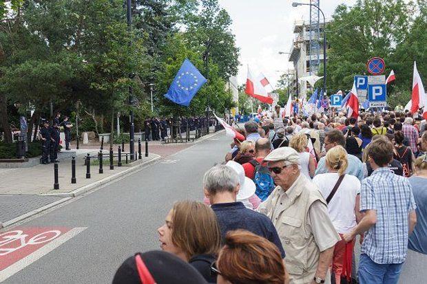 Поляки протестують проти судової реформи