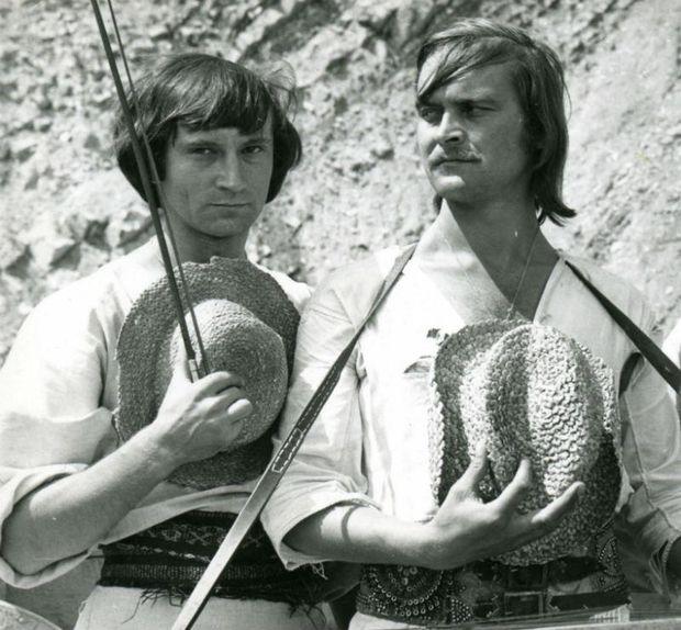 Богдан Ступка та Іван Миколайчук